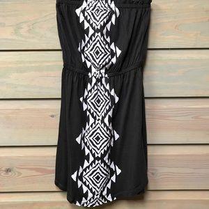 Billabong Small Strapless Dress/Swim Cover